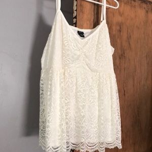 Baby doll top size 4